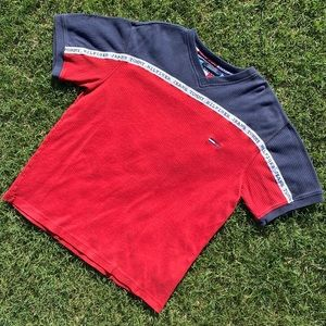 Vintage Tommy Hilfiger Two-Tone Tee